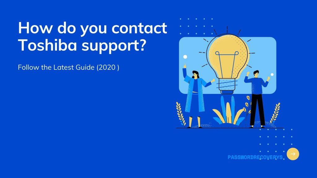 How do you contact Toshiba support