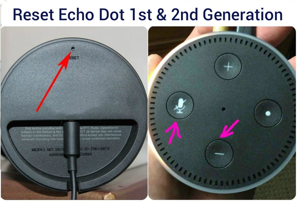 How to Reset Alexa Dot/Echo ? Latest Guide (2020)