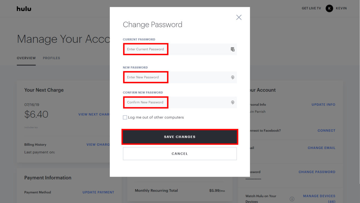 How To: Reset Hulu Password? Recover Hulu forgotten Password Follow the Step By step Guide